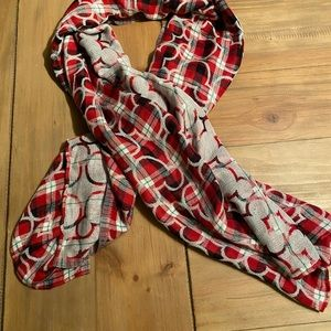 Mickey Mouse reversible scarf